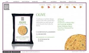 Website with chip navigation