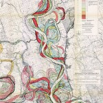 Fisk Map of the Mississippi through the ages